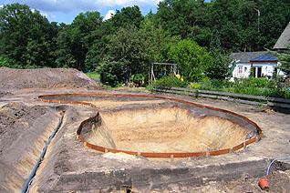 Zwemvijver venhuis vijverbouw bv for Zelf vijver bouwen